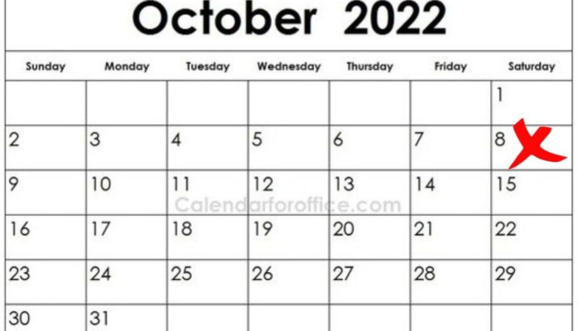 8 Okt 2022